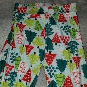 Two Left Feet Christmas leggings. 2 sizes. NWT